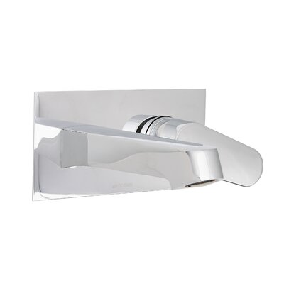Signature Series Single Handle Wall Mount Faucet Finish: Polished Chrome
