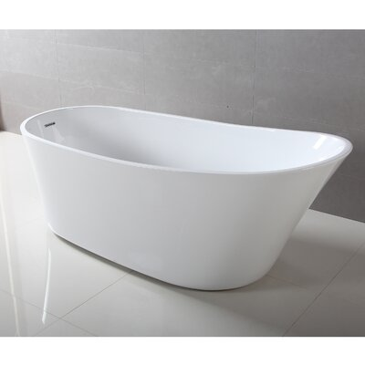 Benerento 32 x 68 Freestanding Soaking Bathtub