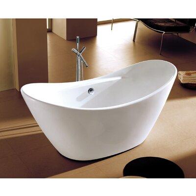 Siena 29 x 68 Freestanding Soaking Bathtub