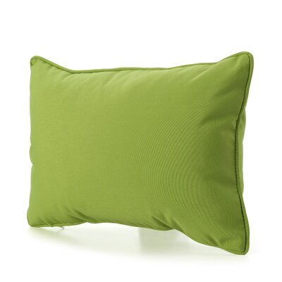 Ashbrook 4 Piece Water Resistant Outdoor Pillow Color: Green