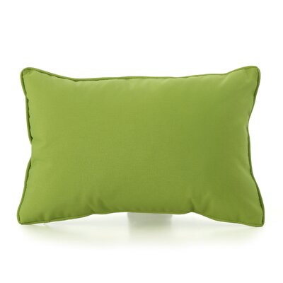 Ashbrook Water Resistant Outdoor Pillow Color: Green