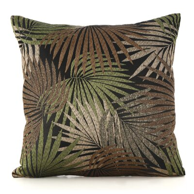 Danae Outdoor Throw Pillow Color: Black