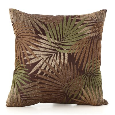 Danae Outdoor Throw Pillow Color: Brown