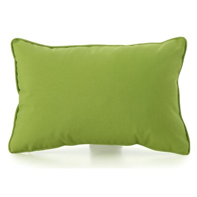Northfield Outdoor Lumbar Pillow Color: Green