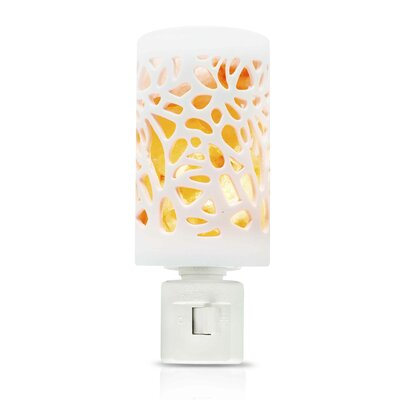 Himalayan Hand Carved Salt Crystal Ceramic Night Light