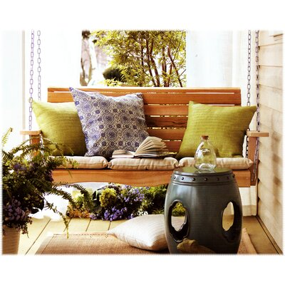 Porch Swing Size: 23 H x 66 W x 24 D