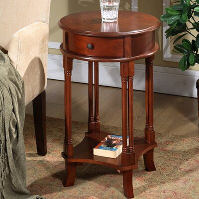 Asheville Round Accent End Table