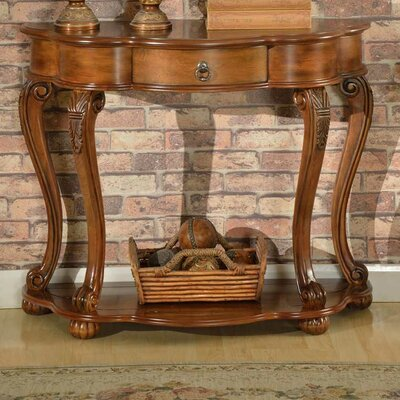 Old World Entry Console Table