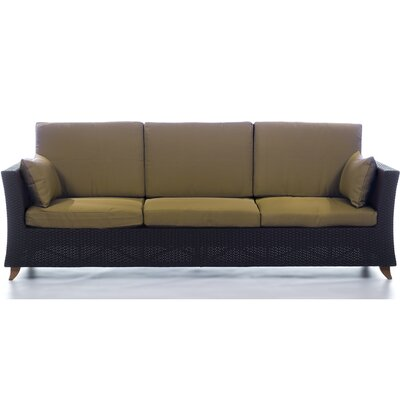 Scottsmoor Rattan Sofa with Cushions