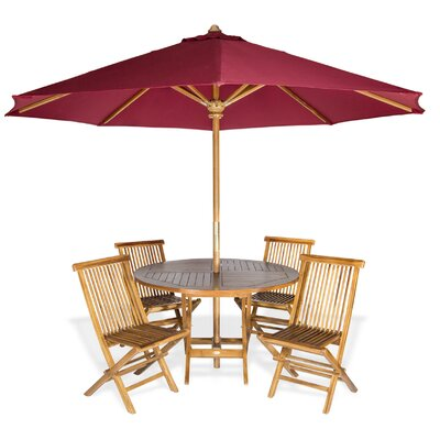 Masonville Teak 6 Piece Dining Set