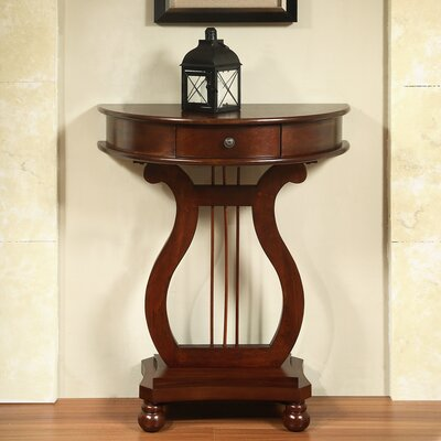 Warwick Half Moon Harp Console Table