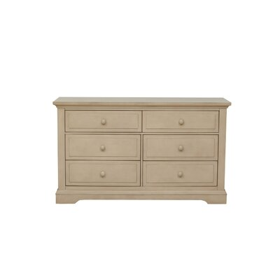 Chatham 6 Drawer Double Dresser Finish: Driftwood