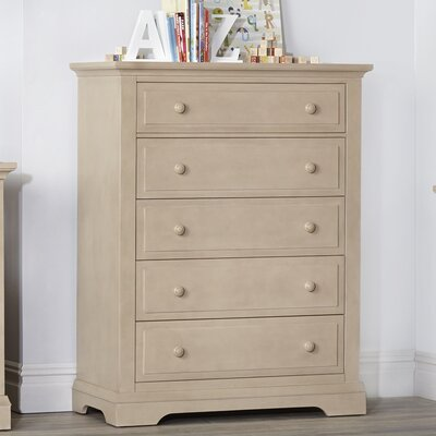 Chatham Centennial 5 Drawer Chest Color: Driftwood
