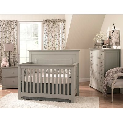 Munir� Furniture Chesapeake 4-in-1 Convertible Nursery Set (3 Pieces) - Finish: Grey at Sears.com
