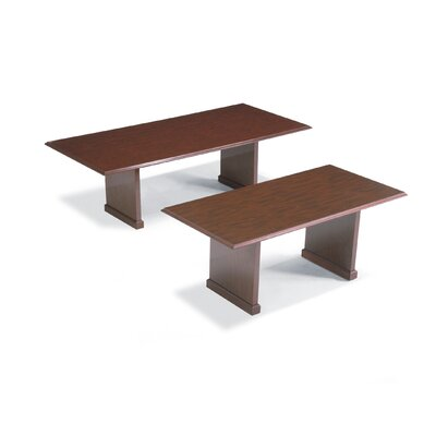 Rectangular Conference Table Top Finish: Empire Mahogany, Size: 6' L Product Image 6