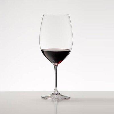 Vinum Bordeaux Red Wine Glass (set Of 8)