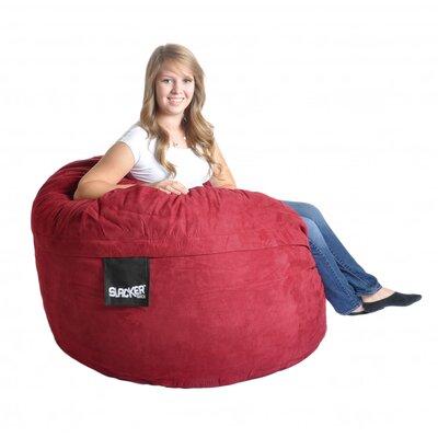 Bean Bag Sofa Upholstery: Cinnabar Red, Size: Medium