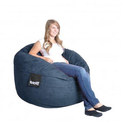Bean Bag Sofa Upholstery: Navy Blue, Size: Medium