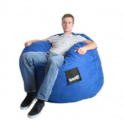 Bean Bag Sofa Upholstery: Royal Blue, Size: Medium