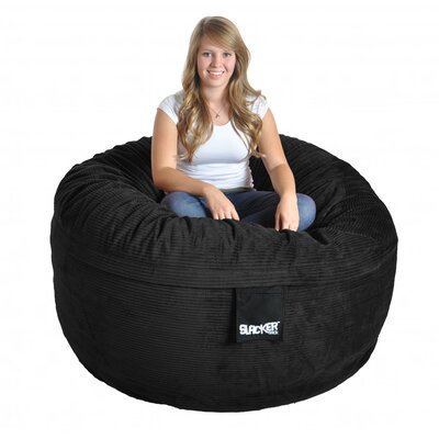 Bean Bag Sofa Upholstery: Black, Size: Large