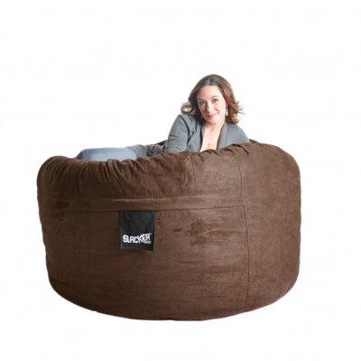 Bean Bag Sofa Size: Large, Upholstery: Chocolate Brown