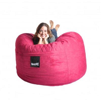 Bean Bag Sofa Size: Large, Upholstery: Hot Pink