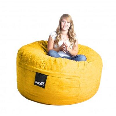 Bean Bag Sofa Size: Large, Upholstery: Lemon Yellow