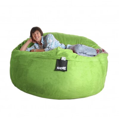 Bean Bag Sofa Size: Extra Large, Upholstery: Lime Green
