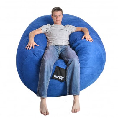 Bean Bag Sofa Upholstery: Royal Blue, Size: Extra Large