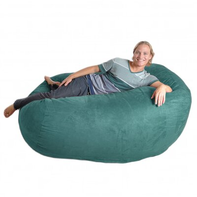 Bean Bag Sofa Upholstery: Teal, Size: Extra Large