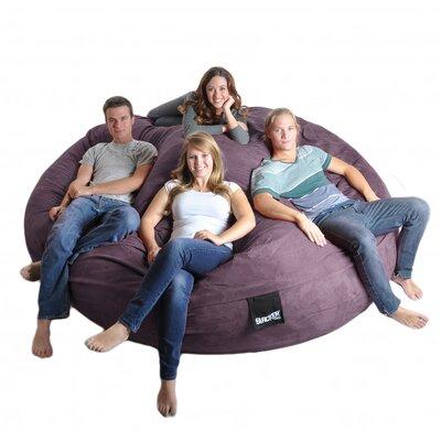 Bean Bag Sofa Upholstery: Purple, Size: Triple Extra Large