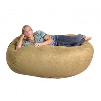 Bean Bag Sofa Upholstery: Camel Tan, Size: Extra Large