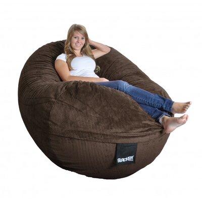 Bean Bag Sofa Upholstery: Chocolate Brown