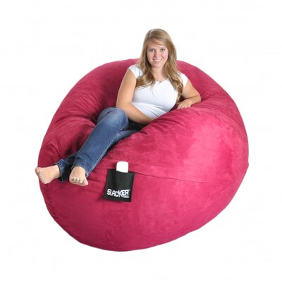 Bean Bag Sofa Upholstery: Hot Pink, Size: Extra Large