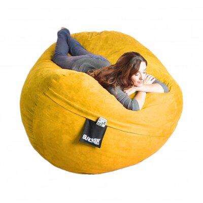 Bean Bag Sofa Upholstery: Lemon Yellow, Size: Extra Large