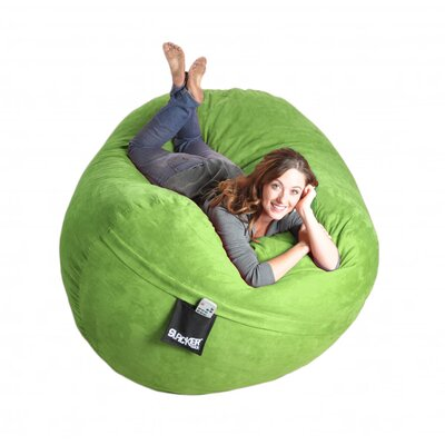 Bean Bag Sofa Upholstery: Lime Green, Size: Extra Large