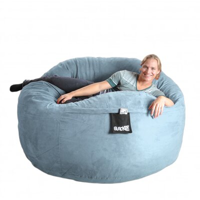 SLACKER sack Bean Bag Chair - Size: Extra Large, Color: Baby Blue at Sears.com