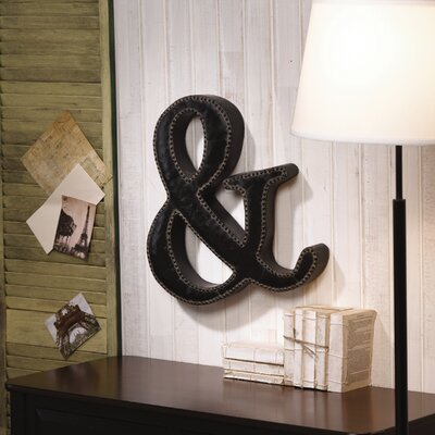 Metal Stud Ampersand Letter Block