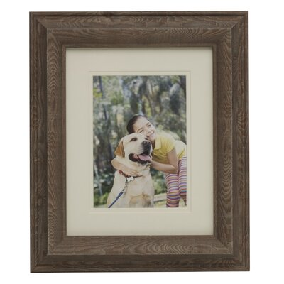 Wood Grain Plastic Picture Frame 5166593