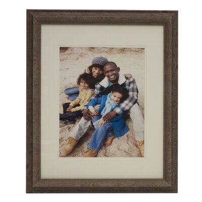 Wood Grain Plastic Picture Frame 5166616