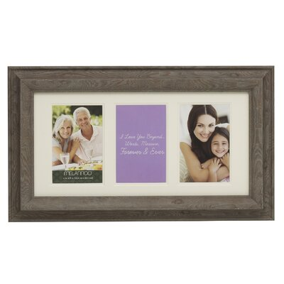 3-Opening Plastic Collage Picture Frame 5170594