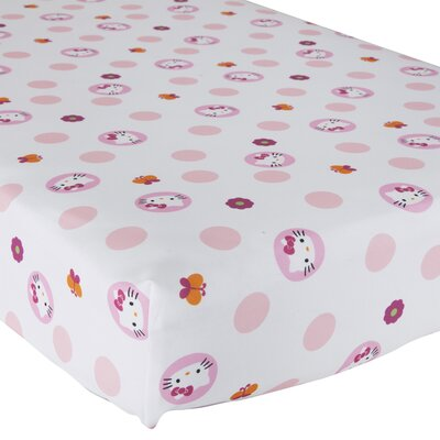 Hello Kitty� Garden Fitted Sheet