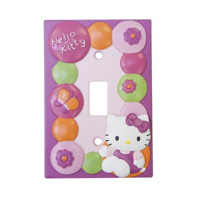 Hello Kitty� Garden Switch-plate Cover