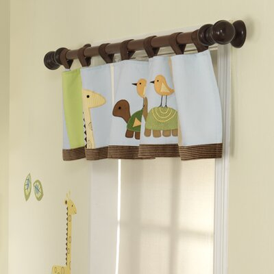 Jungle Story Window Valance