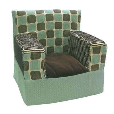 Baby Picasso Blue Slipcover Chair 5635