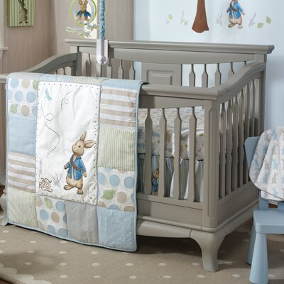 Peter Rabbit 4 Piece Quilt Set