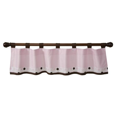 Classic Pink Window Valance