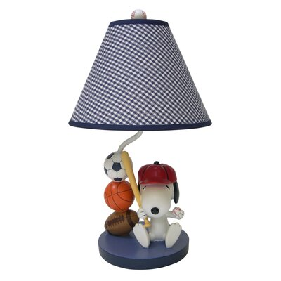 Team Snoopy Lamp with Shade and Bulb