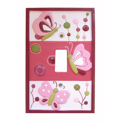Raspberry Swirl Switch Plate Cover