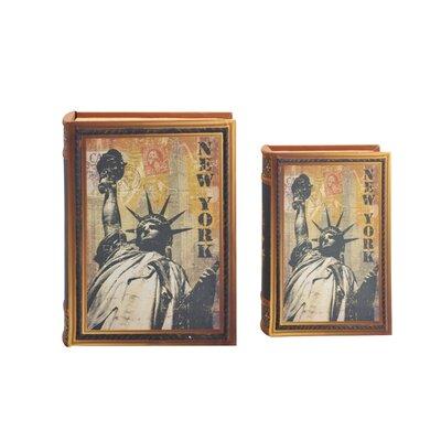 2 Piece New York Book Box Set